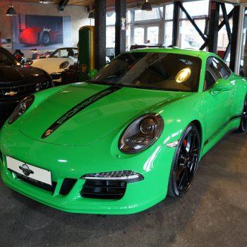 Porsche 991 4S Coupé vipergrün
